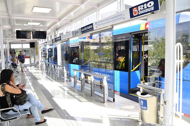 Sistema BRT do Rio. (Foto: Mariana Gil/WRI Brasil Cidades Sustentáveis)