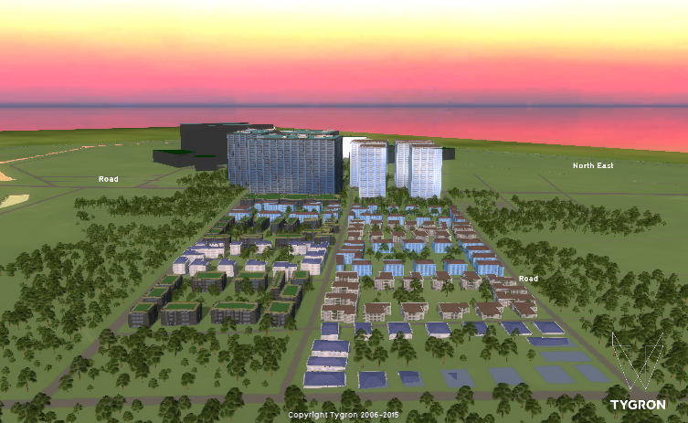 Jogo Tygron ajuda a simular decisões reais em ambiente 3D (Foto: Divulgalção)