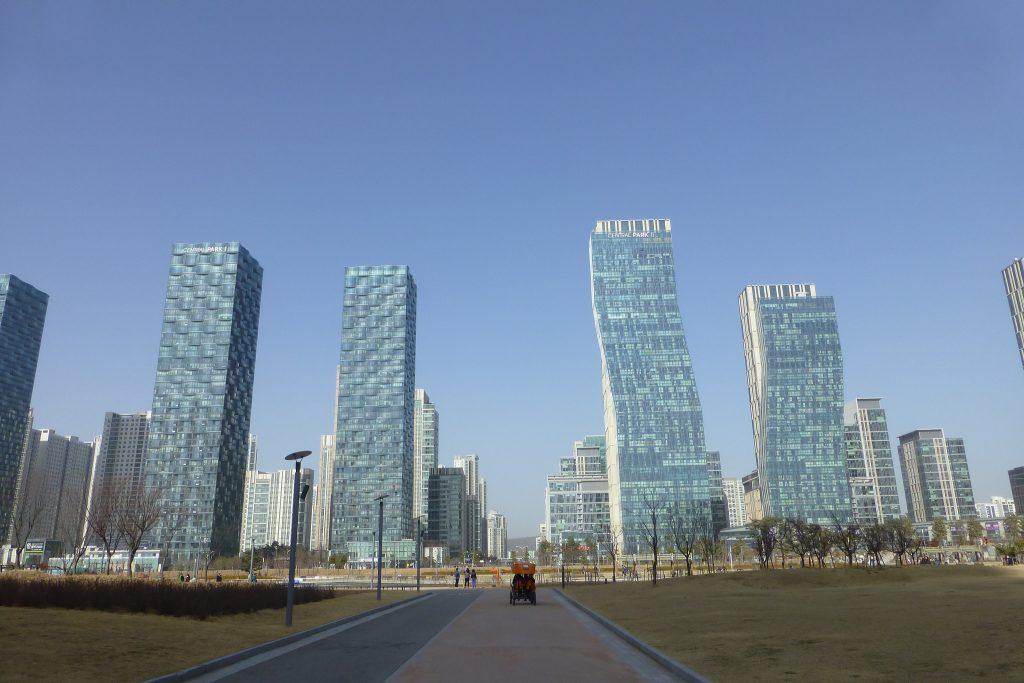 Cidade de Songdo, na Coreia do Sul. (Foto: Andy Nelson/Flickr-CC)