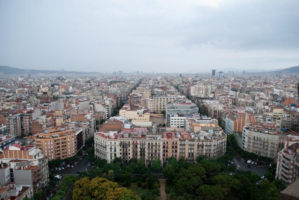 Eixample, em Barcelona. (Foto: Wouter Horré/Flickr-CC)