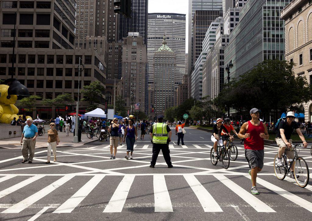 Nova York em um dia de Summer Streets. (Foto: Dan Nguyen/ Flickr-CC)