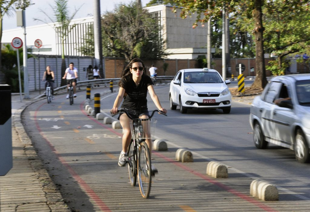 ciclista em Belo Horizonte