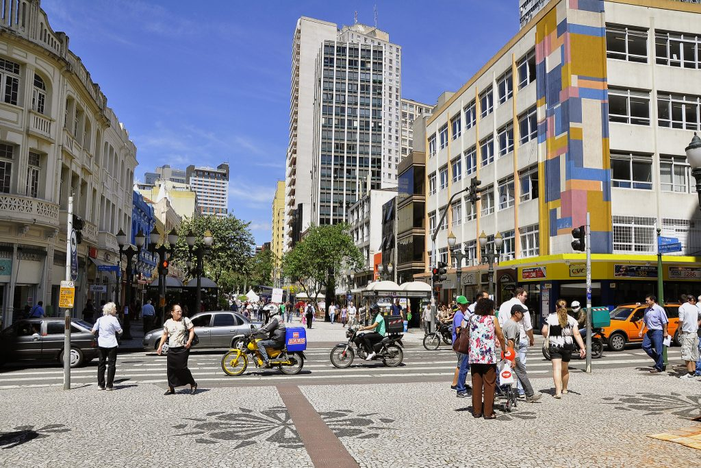 Curitiba aparece em terceiro lugar no ranking das capitais. (Foto: Mariana Gil/WRI Brasil Cidades Sustentáveis)
