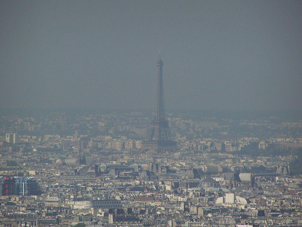 paris poluída