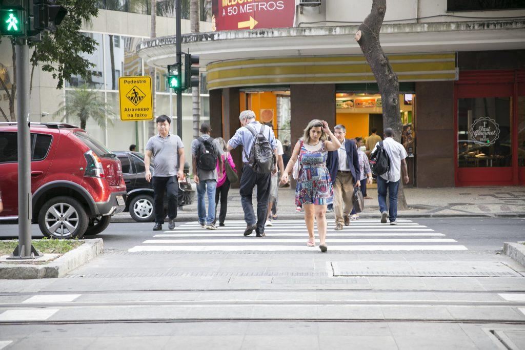 Cidades caminháveis se tornam mais acessíveis economicamente. (Foto: Mariana Gil/WRI Brasil Cidades Sustentáveis)