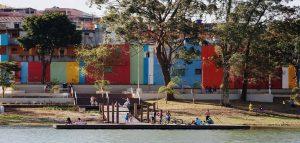Projeto desenvolvido pelo Arquiteto Marcos Boldarini para o Complexo Cantinho do Céu, em São Paulo. (Foto: Boldarini Arquitetura)