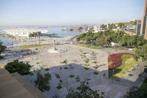 Praça Mauá, no Rio, foi completamente revitalizada. (Foto: Mariana Gil/ WRI Brasil Cidades Sustentáveis)