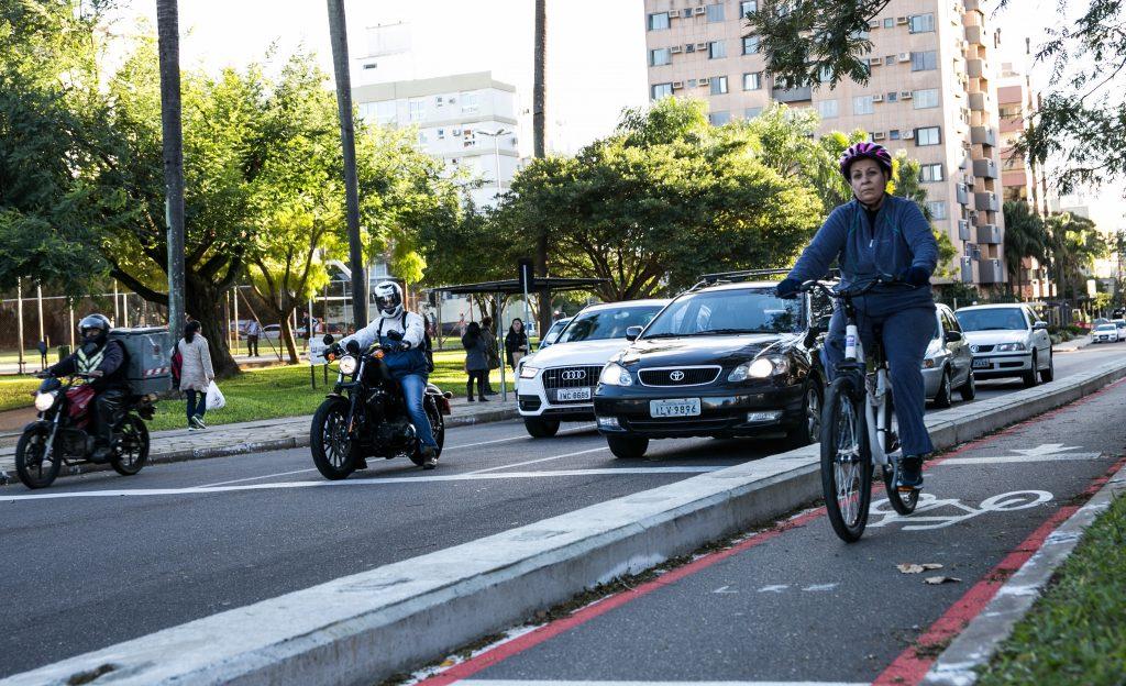 A infraestrutura para o pedalar pode influenciar na saúde pública. (Foto: Sergio Trentini/WRI Brasil Cidades Sustentáveis)