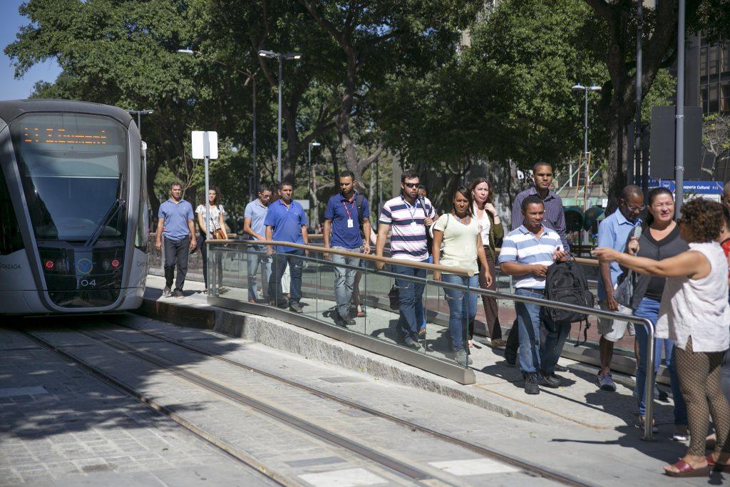 Mais pessoas podem ser levadas ao transporte coletivo conforme o acesso for facilitado. (Foto: Mariana Gil/WRI Brasil)