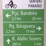 Modelo já instalado na Av. Paulista. (Foto: Secretaria Municipal de Mobilidade Urbana)