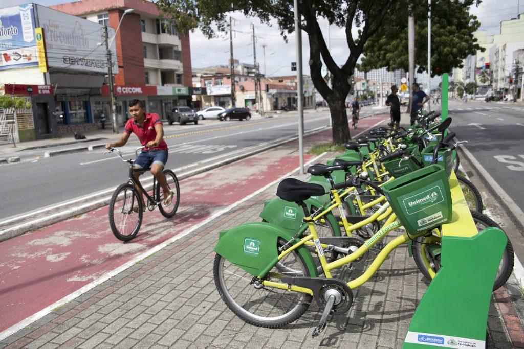 Bicicletar Corporativo será integrado ao sistema de bikes compartilhadas de Fortaleza. (Foto: Mariana Gil/WRI Brasil)