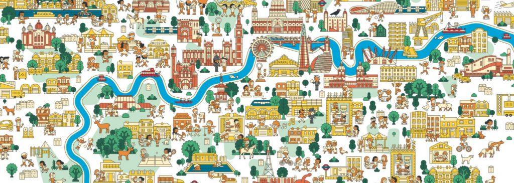 Primeira versão do Plano de Londres foi divulgado para análise da população. (imagem: LondonPlan)