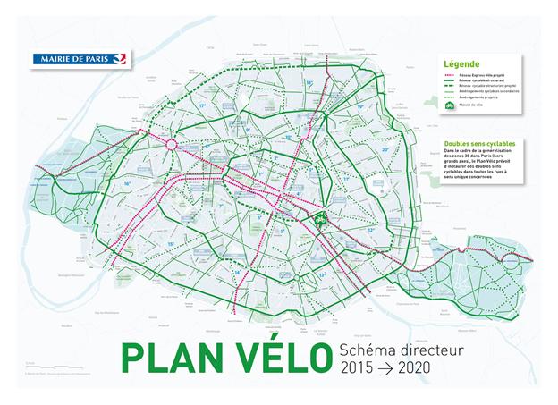 Mapa Plan Vélo