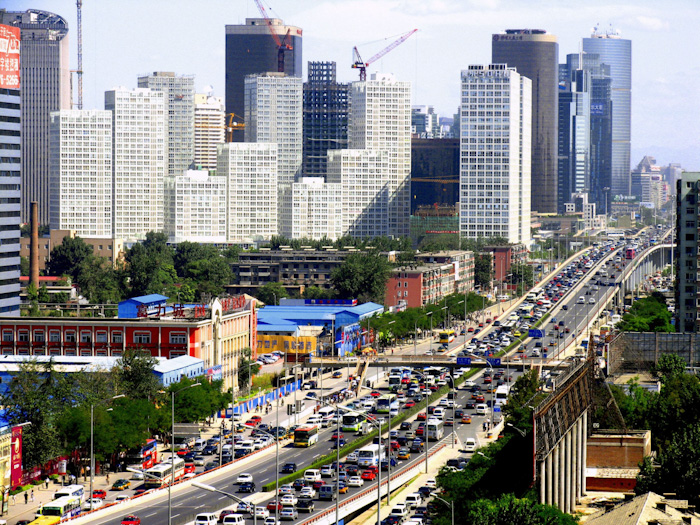 Beijing, China. (Foto: Asian Development Bank)