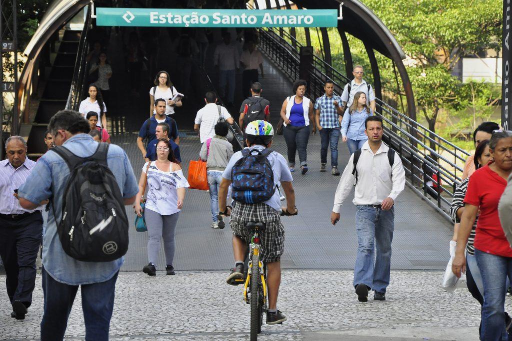 Conexões com outros modais de transporte são vitais para incentivar o uso. (Foto: Mariana Gil/WRI Brasil Cidades Sustentáveis)