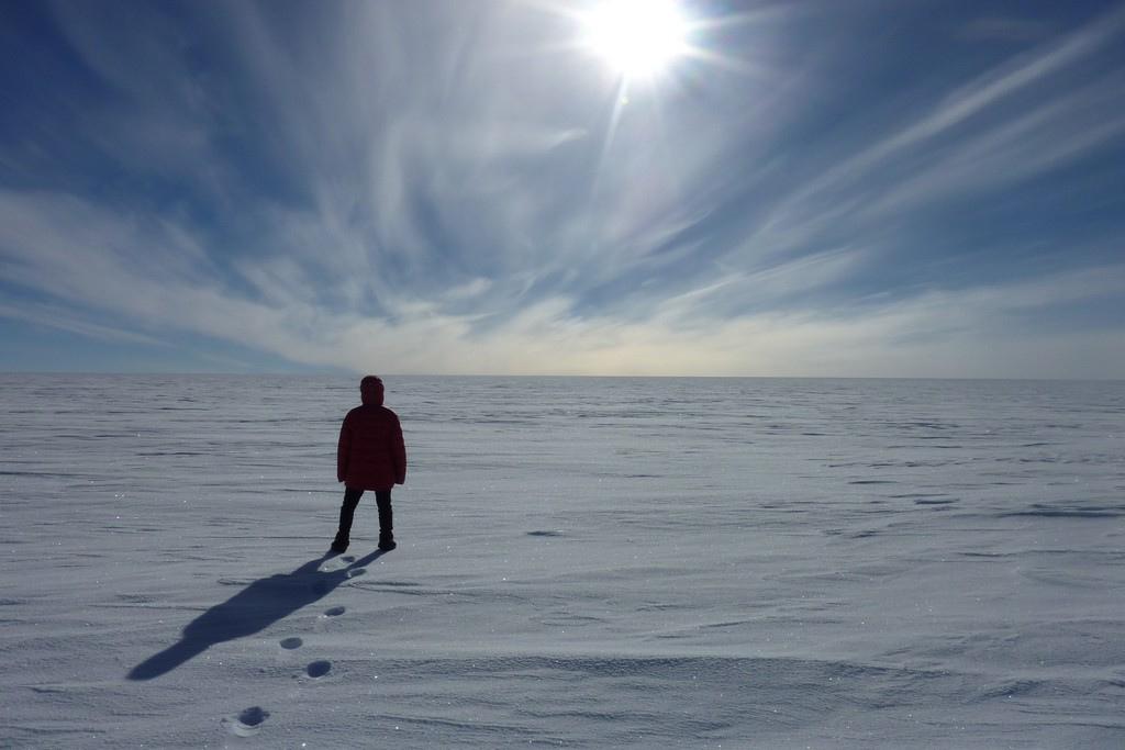 Camada de ozônio da Antártida está 4 quilômetros quadrados menor do que seu pico de tamanho. (Foto: Eugene Kaspersky/Flickr-CC)