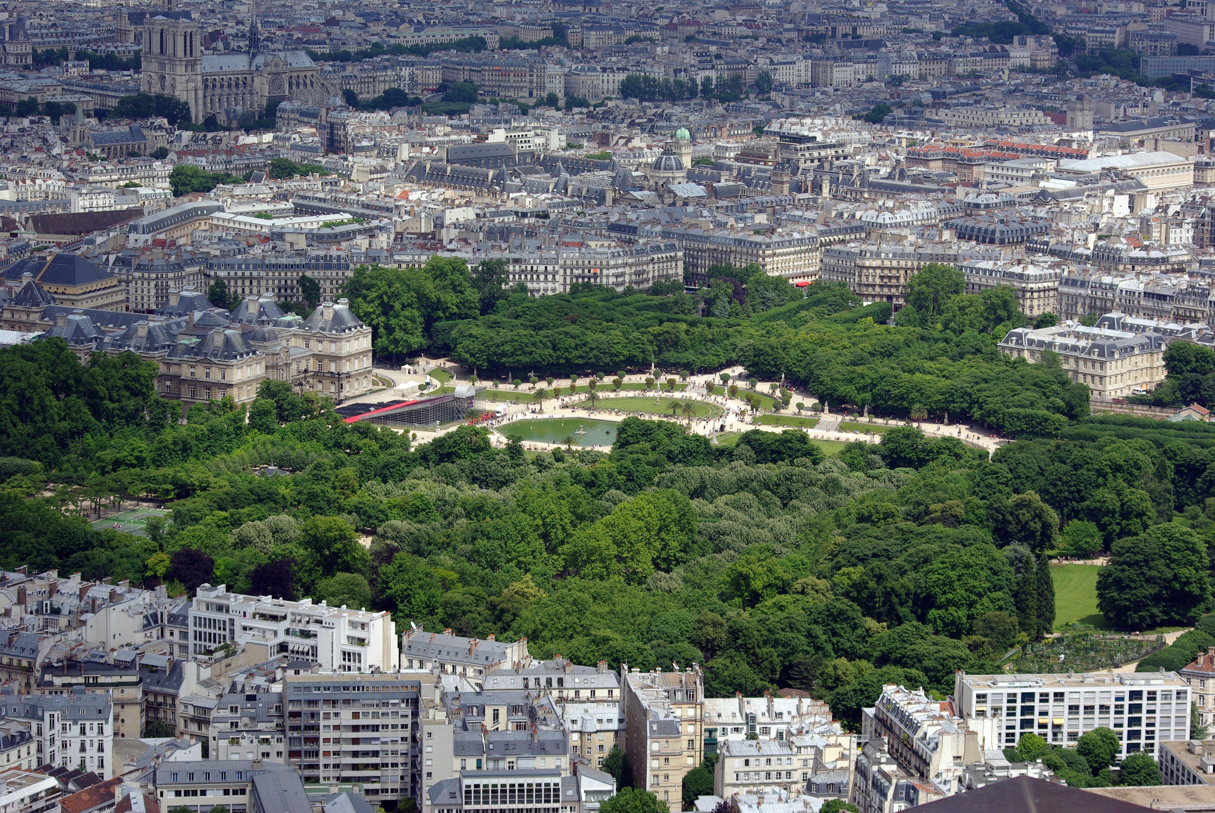 (Jardim de Luxemburgo, em Paris / Foto: Kirua/Wikicommons)