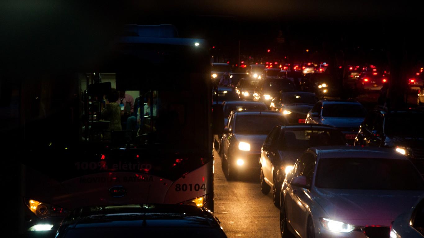 (Projeção de cientistas afirma que com sistemas de transporte coletivos compartilhado, os engarrafamentos não serão mais realidade - Foto: Sergio Trentini/WRI Brasil Cidades Sustentáveis)