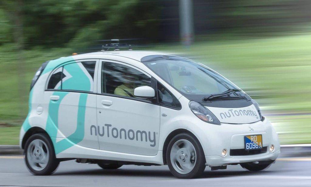carro autônomo da nutonomy