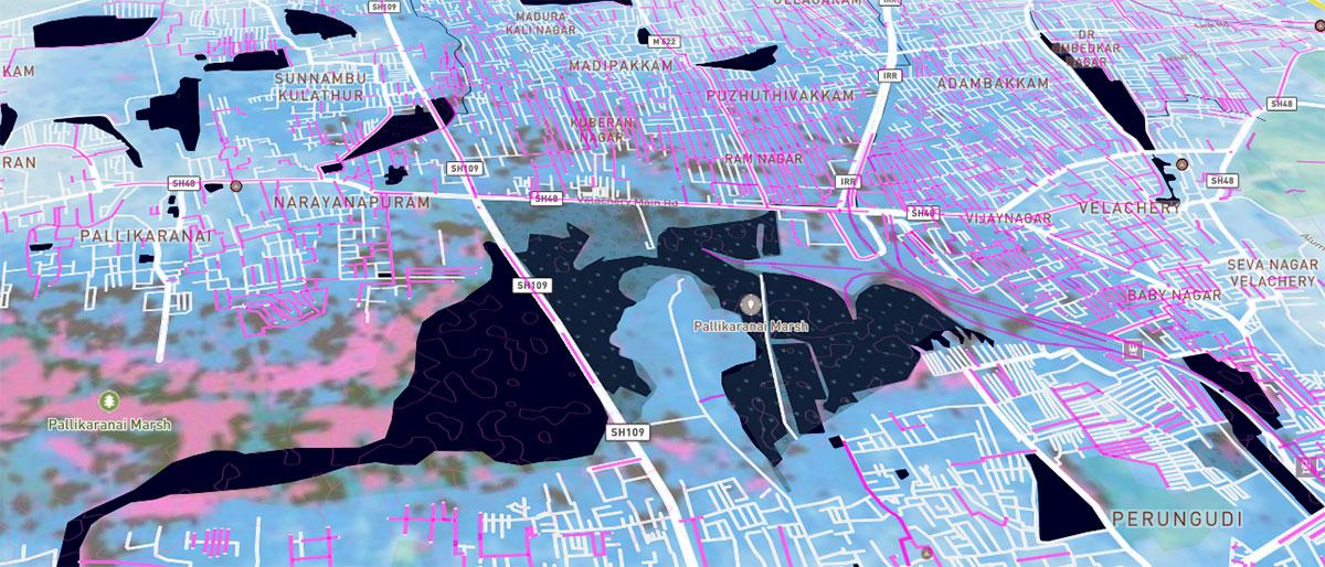 Divulgação/OpenStreetMap India)
