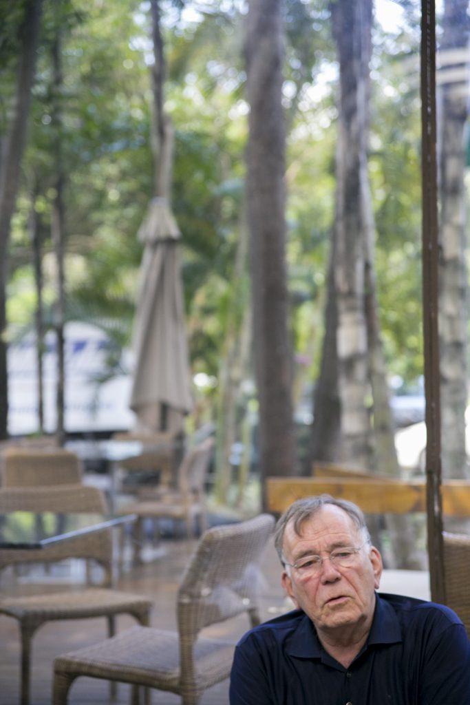 Jan Gehl (Foto: Bruno Felin/WRI Brasil Cidades Sustentáveis)