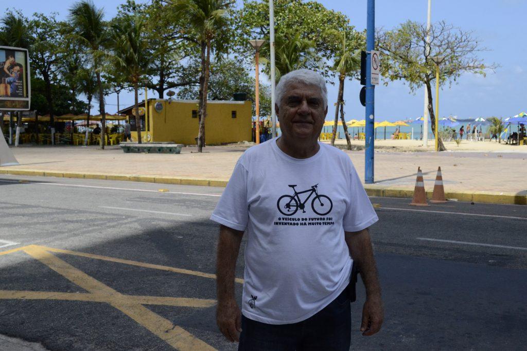 José Carlos Aziz Ary participou do primeiro Manual de Bicicletas do Brasil (Foto: Aloha Boeck / WRI Brasil Cidades Sustentáveis)