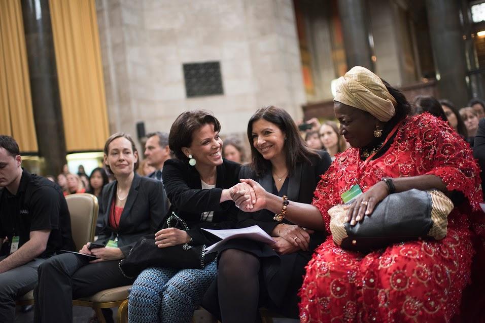Women4Climate teve o lançamento oficial no dia 15 de março, em encontro em Nova York. (Foto: Scout Tufankjian/C40)