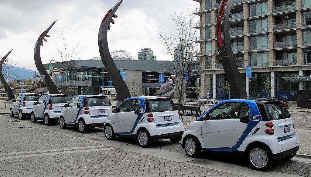 Vancouver, Canadá, carsharing
