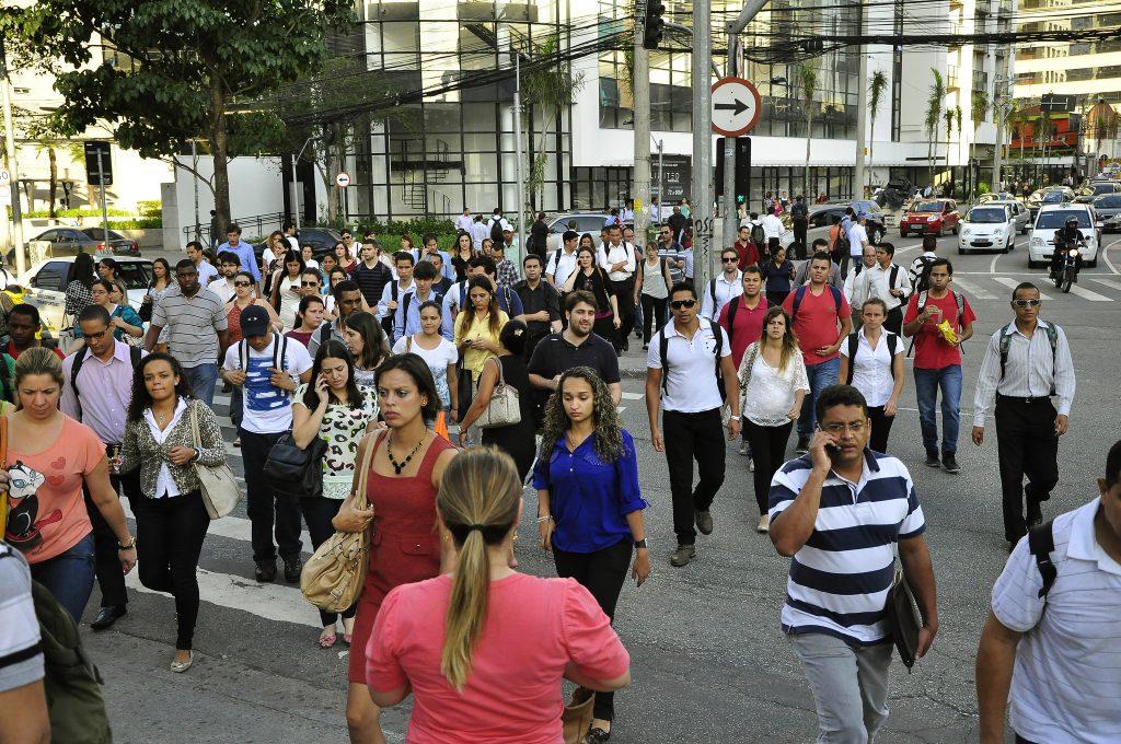 Planejar para o pedestre é pensar em todo o sistema de mobilidade. (Foto: Mariana Gil/WRI Brasil)